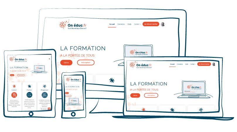 Onéduc.fr Multi support